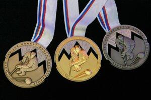 Medaily pre svetový hokejový šampionát.