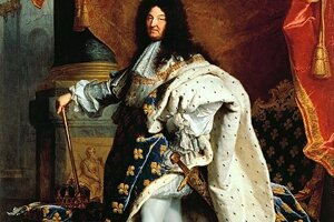 Kráľ Ľudovít XIV. nosil topánky na podpätku s červenou farbou.