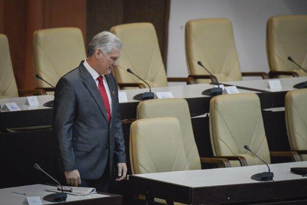 Kubánsky prezident Miguel Díaz-Canel.
