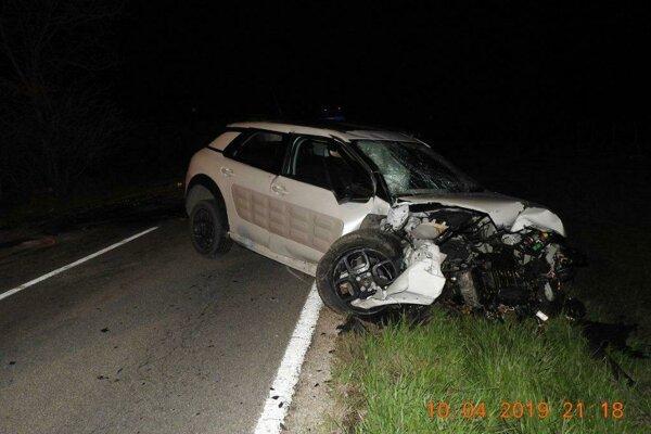 Vodič tohto auta bol poriadne opitý.