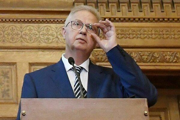 Maďarský minister spravodlivosti László Trócsányi je lídrom eurokandidátky strany Fidesz.