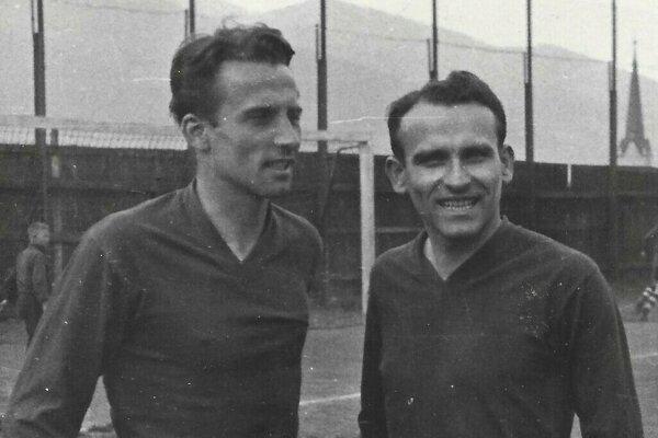 Ján Bobrovský (vľavo) sbratom Miroslavom.
