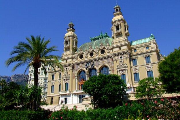 Slávne kasíno Monte Carlo