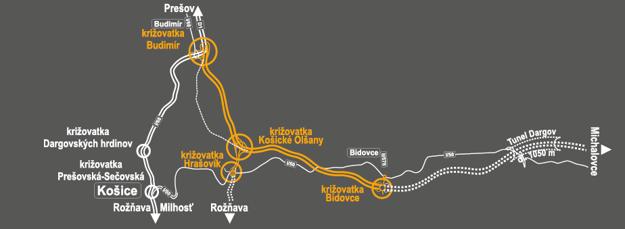 Mapa stavby