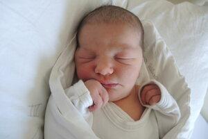 Timea Havierniková (3890 g, 54 cm) sa narodila 4. apríla Jane a Martinovi z Bošáce.