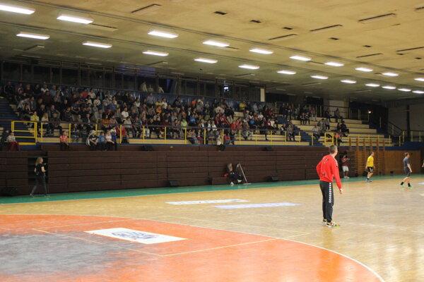 Hala Slavomíra Šipoša by mohla po menších úpravách hostiť reprezentačný zápas.