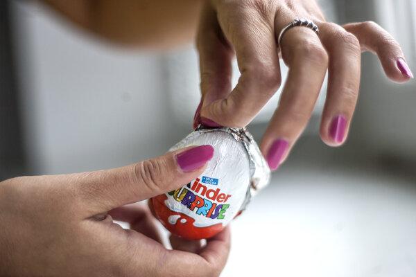 Kinder vajíčko ako obľúbená sladkosť