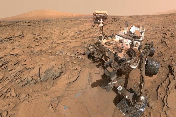 Rover Curiosity zachytil veľký nárast metánu na Marse.