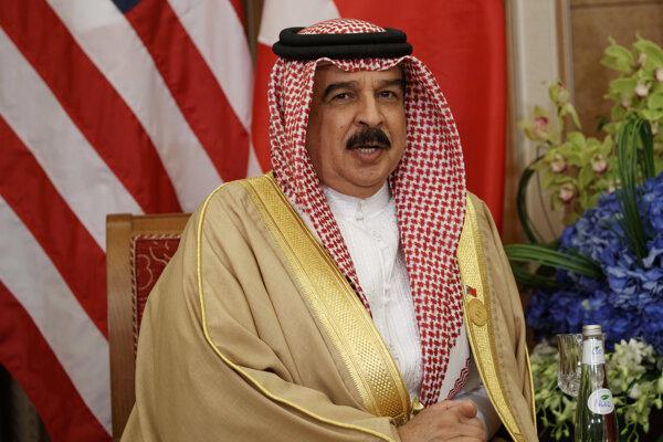 Bahrajnský kráľ Hamad ibn Isa Al Chalífa.