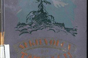 Turistický sprievodca po Vysokých Tatrách z roku 1923.