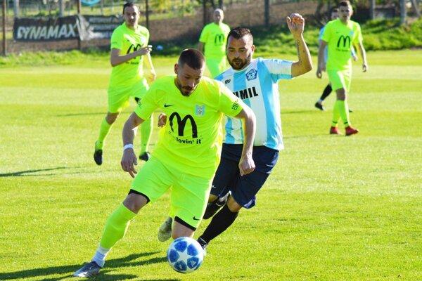 Michal Béger strelil na jar už 9 gólov za Lapáš.