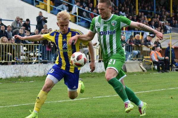 Futbalisti Trebišova si doma poradili s prešovským Tatranom.