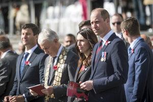 Princ William na spomienkovom obrade za padlých v gallipolskej operácii.