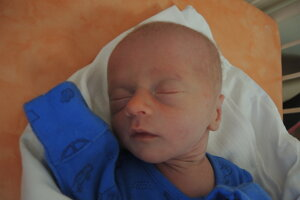 Jakub Švec (2260 g, 45 cm) sa narodil 12. apríla Silvii a Jakubovi z Trenčianskej Teplej.