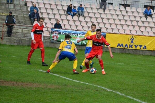 V 3. futbalovej lige sa môže meniť poradie na prvom mieste.