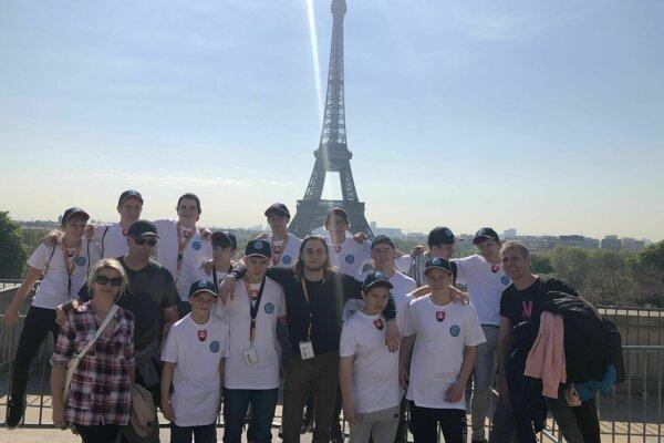 Športovú cestu do Francúzska zakončili Žilinčania medailovo.