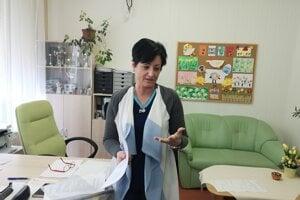 Riaditeľka školy Andrea Chalupová.