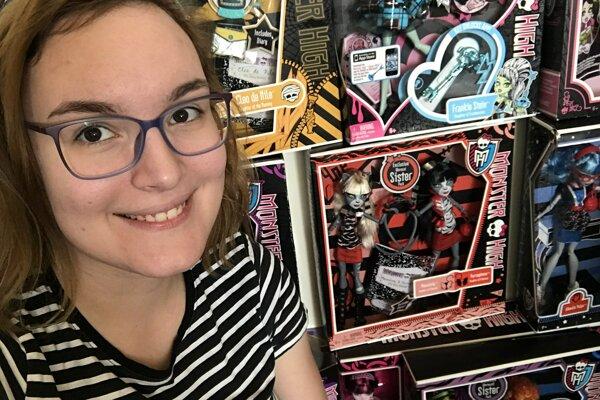 Alexandra Lepotová z Trnavy zbiera bábiky už niekoľko rokov.