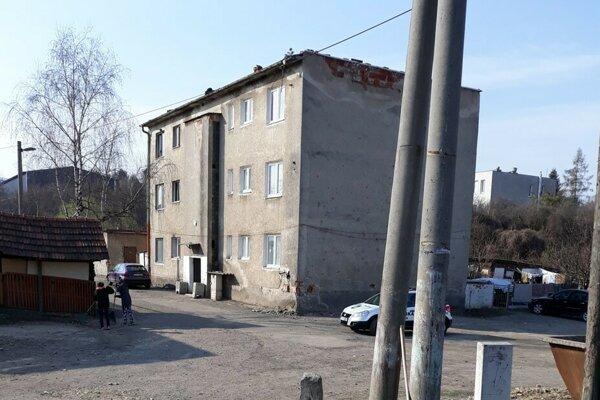 Bytovka prestupného bývania na Štúrovej ulici.