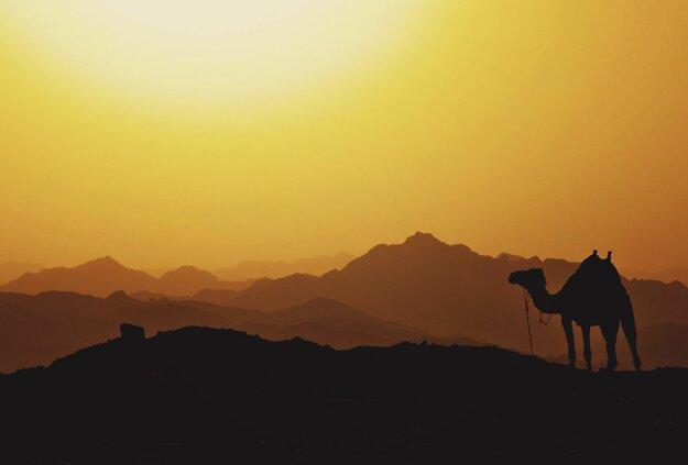 Púštne oblasti sú veľkým lákadlom Egypta.