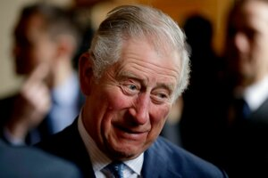 1. Princ Charles, princ z Walesu, syn kráľovnej Alžbety II., Narodený v roku 1948.