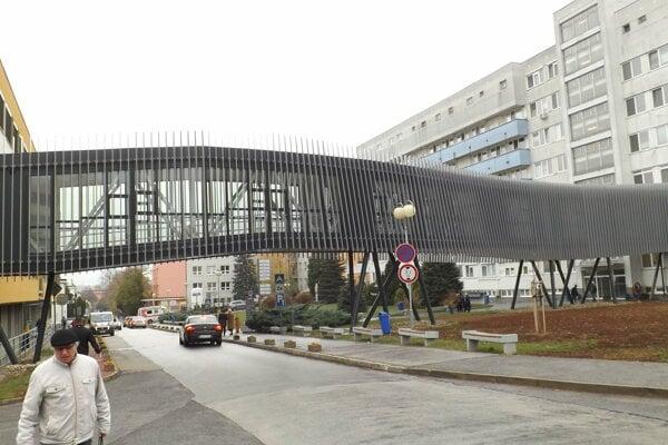 Nemocnica v Nitre.