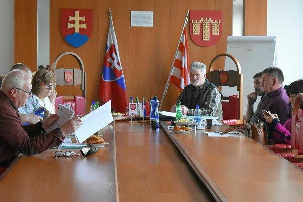 Rokovanie dozornej rady mestských lesov.