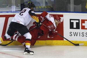 80eb916be7810 MS v hokeji: Momentky zo zápasu Dánsko - Nemecko (12 fotografií)