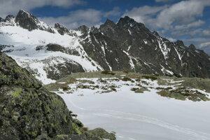 Z Veľkej studenej doliny v Tatrách.