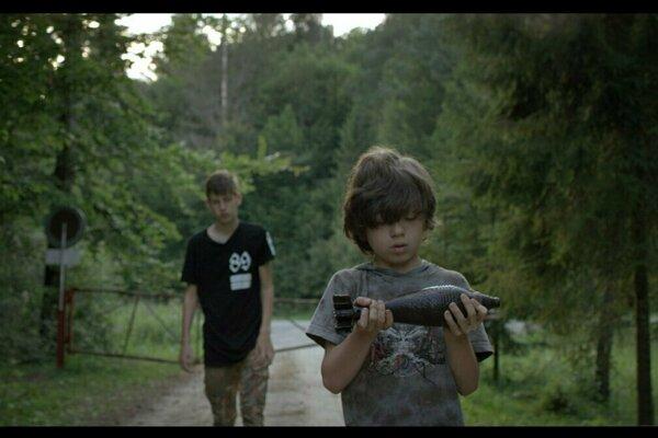 Záber z filmu Pura Vida.