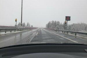 Na diaľnici pod Tatrami