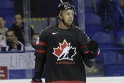 Anthony Mantha, strelec úvodného gólu v zápase MS v hokeji 2019 Kanada - Francúzsko.