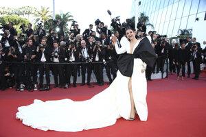 Deepika Padukone počas premiéry filmu Rocketman