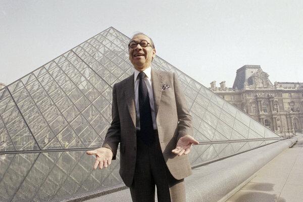 Medzi Peiove najznámejšie architektonické diela patria sklenená pyramída na nádvorí parížskeho múzea Louvre.