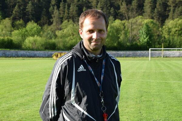 Tréner Vladimír Kuťka.
