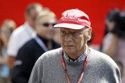 Bývalý pretekár F1 Niki Lauda.
