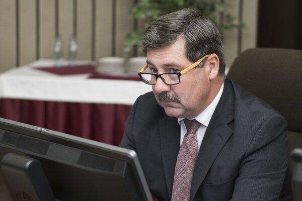 Štátny tajomník ministerstva zahraničných vecí a európskych záležitostí SR František Ružička.