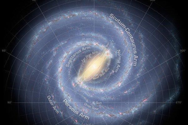 Najnovšia mapa Galaxie.