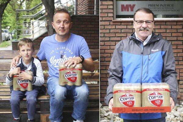 Kartón piva Corgoň od spoločnosti Heineken za 10. kolo si rozdelili Boris Grežo (so synom Davidom) a Eduard Szabó, obaja z Nitry.