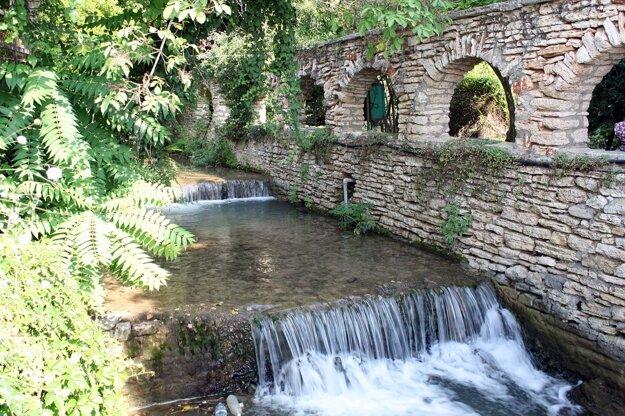 Záhrada paláca kráľovnej Márie Balčik