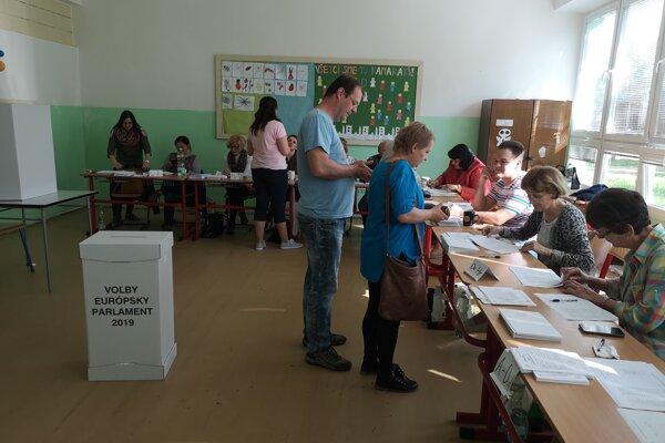 Sobotňajšie voľby v Prešove.