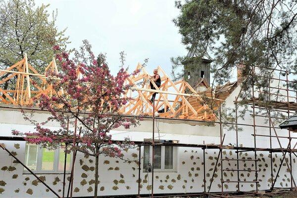 Rekonštrukcia Kultúrneho domu v Rakove.