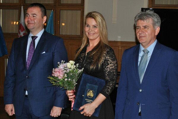 Ocenili aj riaditeľku Regionálneho osvetového strediska vLeviciach Alžbetu Sádovskú.