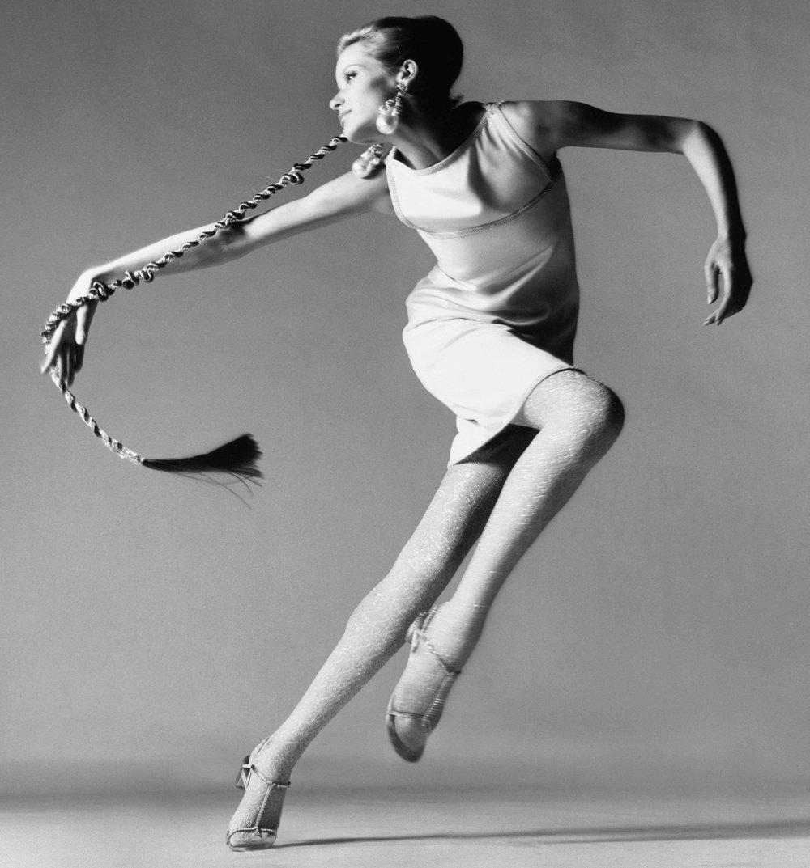 Vyskoč! Leť! Modelky ukázali ladnosť v pohybe.