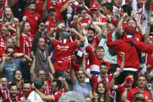Fanúšikovia Bayernu Mníchov.