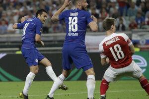 Pedro zvyšuje na 2:0 pre Chelsea.