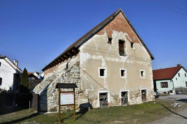 Habánsky mlyn v Sobotišti.