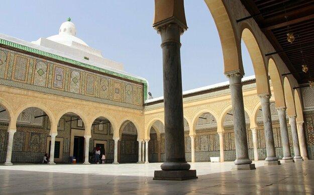 Kairouan, mauzóleum Sidi Sahaba
