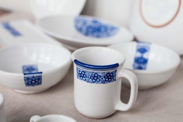 Dizajnová kolekcia tradičnej keramiky - Skratky