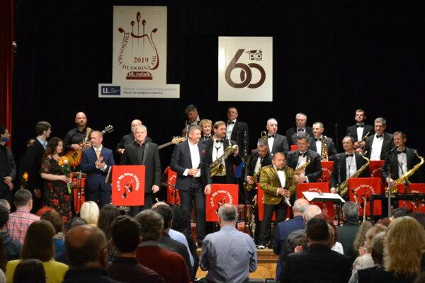 Koncert pri príležitosti 30. výročia T.O.P. Big Bandu.